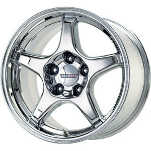ZR1 Chrome Replica Wheel 17x11
